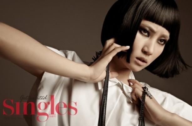 Wonder Girls Ye Eun's Sexy Transformation in Singles Magazine