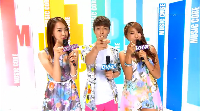 MBC Music Core Performances 08.04.12