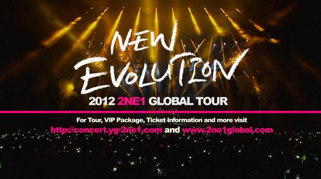 "2NE1 Reveals Official Trailer for 2012 ""New Evolution"" World Tour"