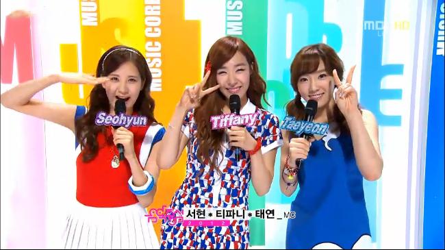 MBC Music Core Performances 08.11.12