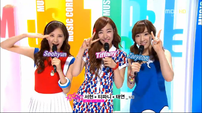 MBC Music Core Performances 08.11.12
