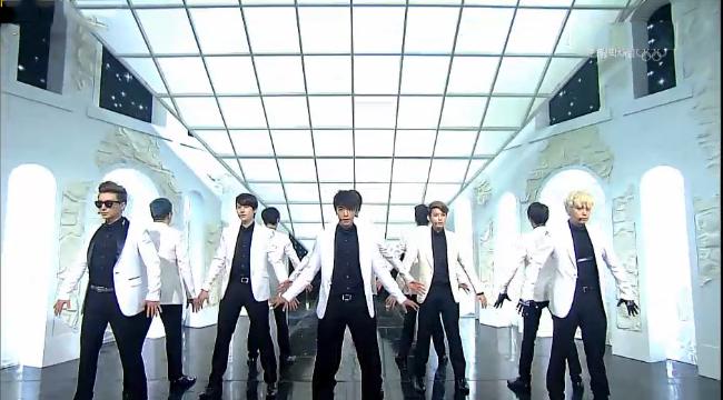 "Super Junior Performs ""SPY"" for Inkigayo Comeback"