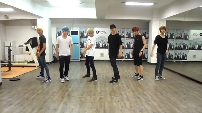 "Teen Top Reveals Dance Practice Video for ""Be Ma Girl"""