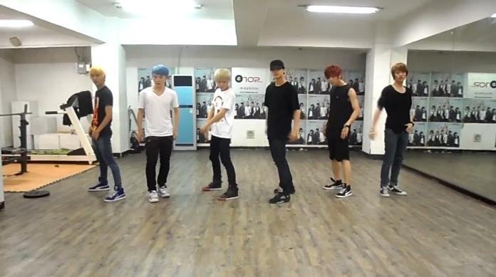 "Teen Top Reveals Dance Practice Video for ""Be Ma Girl"""