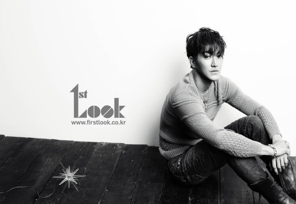 "Super Junior's Siwon Goes Natural for ""1st Look"" Magazine"
