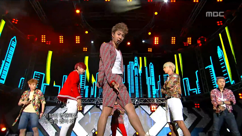 "BEAST Performs ""Beautiful Night"" on Music Core"