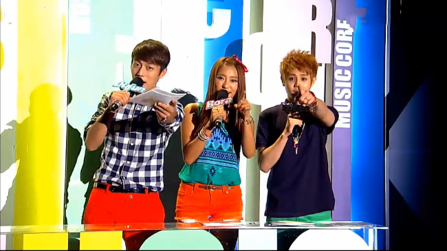 MBC Music Core 08.18.12
