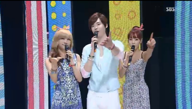 SBS Inkigayo Performances 08.19.12