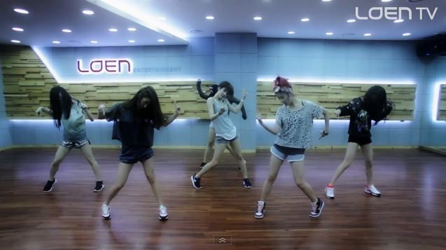 "Upcoming Girl Group FIESTAR Reveals Their Dance Practice Video to SHINee's ""Lucifer"""