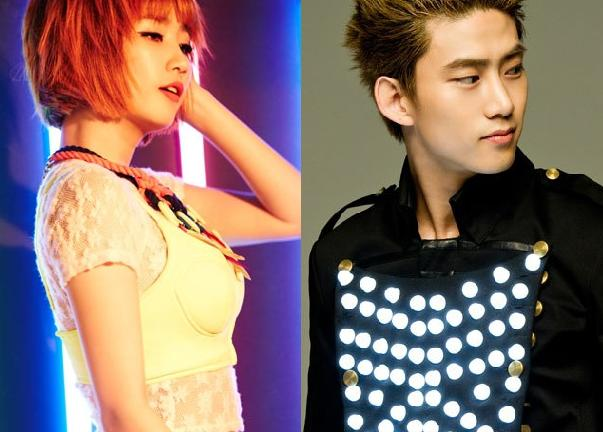 2PM's Taecyeon Takes Affectionate Selca with Wonder Girls' Ye Eun