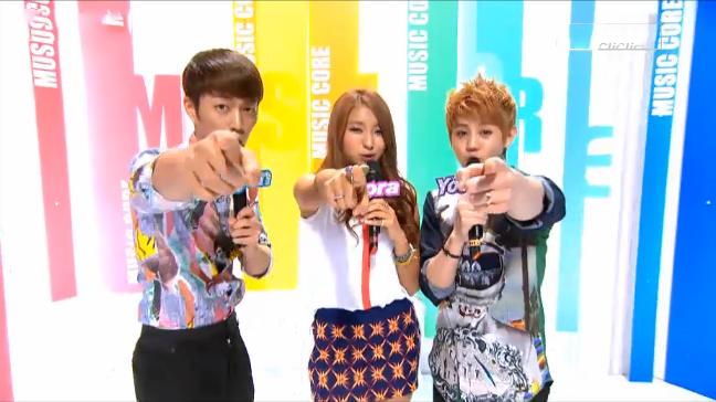 MBC Music Core 08.25.12