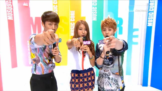 MBC Music Core 08.25.12