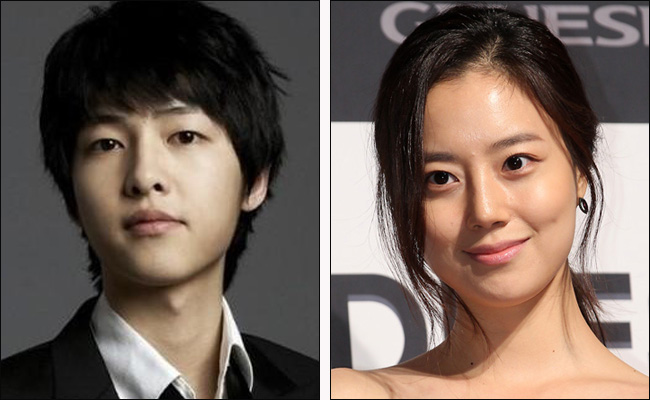 """New """"Nice Guy"""" Stills of Song Joong Ki and Moon Chae Won on a Date"""