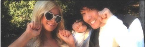 "Paris Hilton Shows Off ""Bbuing Bbuing"" Aegyo"