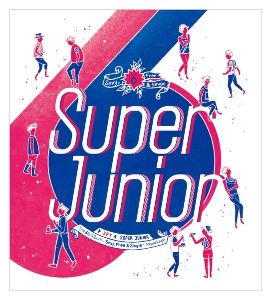 """Super Junior to Release Repackage Album """"SPY"""""""