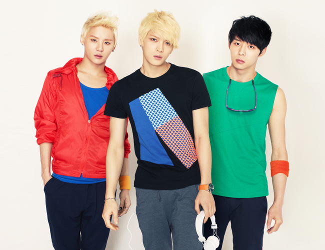 JYJ Turns into Lovely Clowns for Latest Photo Spread