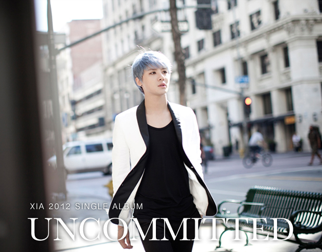 "Xia Junsu Releases Album Cover & Tracklist for ""Uncommitted"""