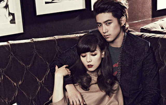 2PM's Taecyeon Torn Between Yubin & Sun Ye for Cosmopolitan