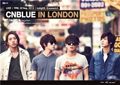 CNBlue to Hold First Concert in London