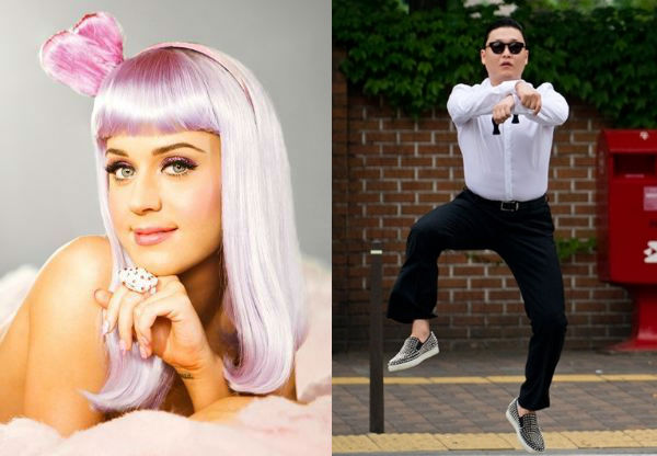 "Katy Perry Tweets about ""Gangnam Style,"" Psy Responds Back"