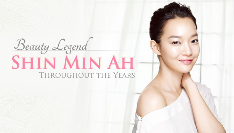 [Ceci] A Beauty Legend: Shin Min Ah Throughout the Years