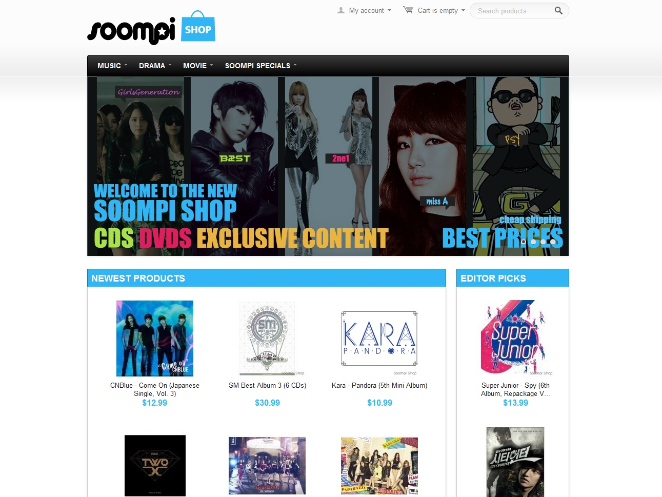 Soompi Shop 2.0 Is Here – All Your K-Pop Shopping Needs in One Place!
