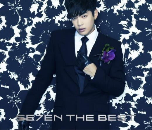 "Se7en Unveils Album Cover Photo for ""Se7en the Best"""