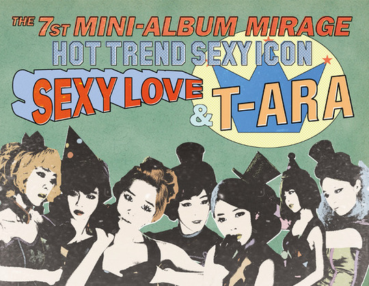 "T-ara to Release New Album ""Mirage"" Next Week"