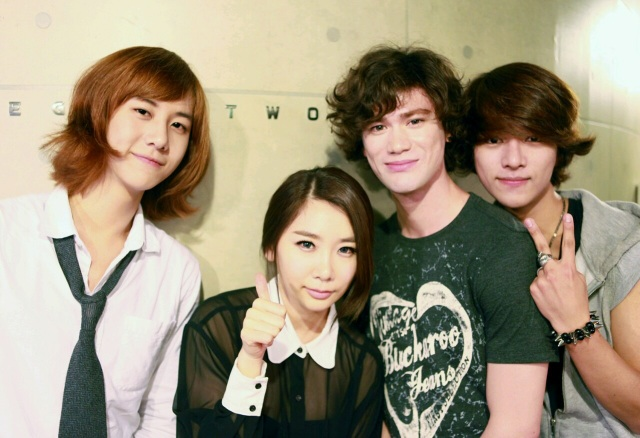 Brown Eyed Girls' JeA Introduces New Boy Band LUNAFLY