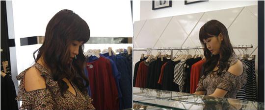 Lee Da Hae Shows Off Mix-Match Fashion