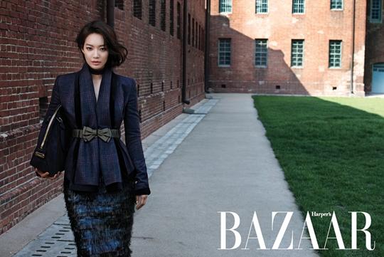 """Ravishing Beauty Shin Min Ah Smoulders In """"Harper's Bazaar"""""""