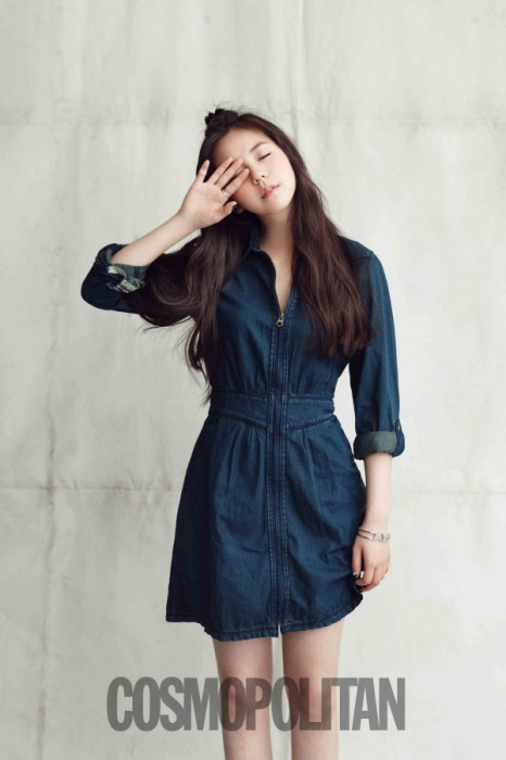 The Inscrutable and Growing Wonder Girls' Sohee in Cosmopolitan
