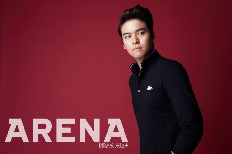 """Lee Jang Woo's Smooth Looks in """"Arena Homme Plus"""""""