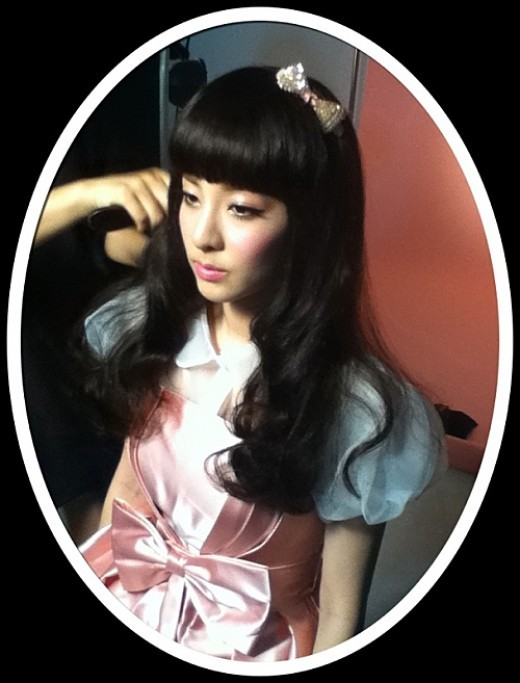 2NE1's Dara Is a Living Doll