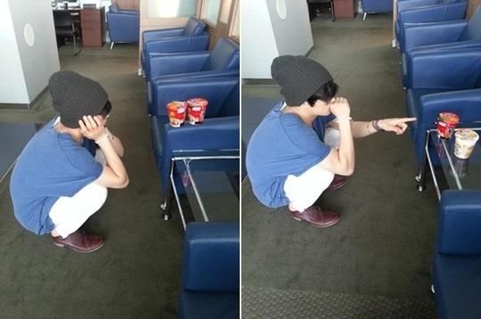 """JYJ's Kim Jae Joong: """"To Eat or Not To Eat"""""""