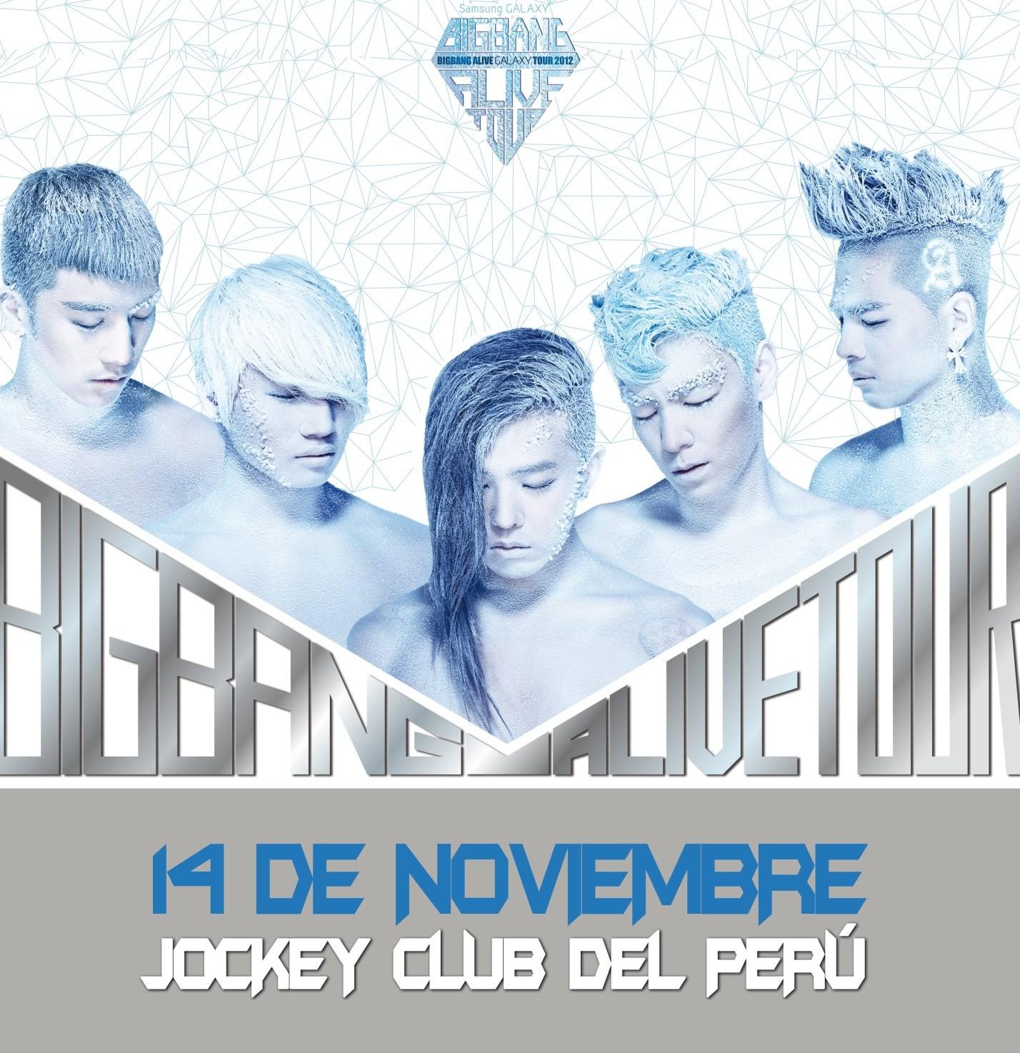 Big Bang Alive Galaxy Tour Peru