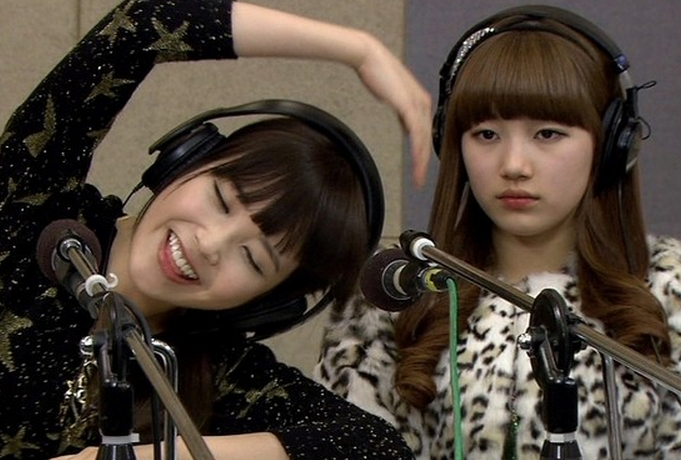 miss A's Suzy and IU Voted Female Celebs Who Look Like They Are Bad at Math