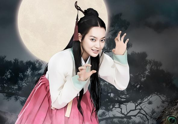 Shin Min Ah Displays Her Drawing Skills