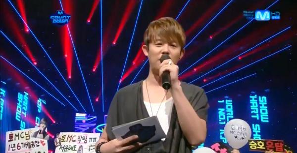 Mnet M! Countdown – August 23, 2012
