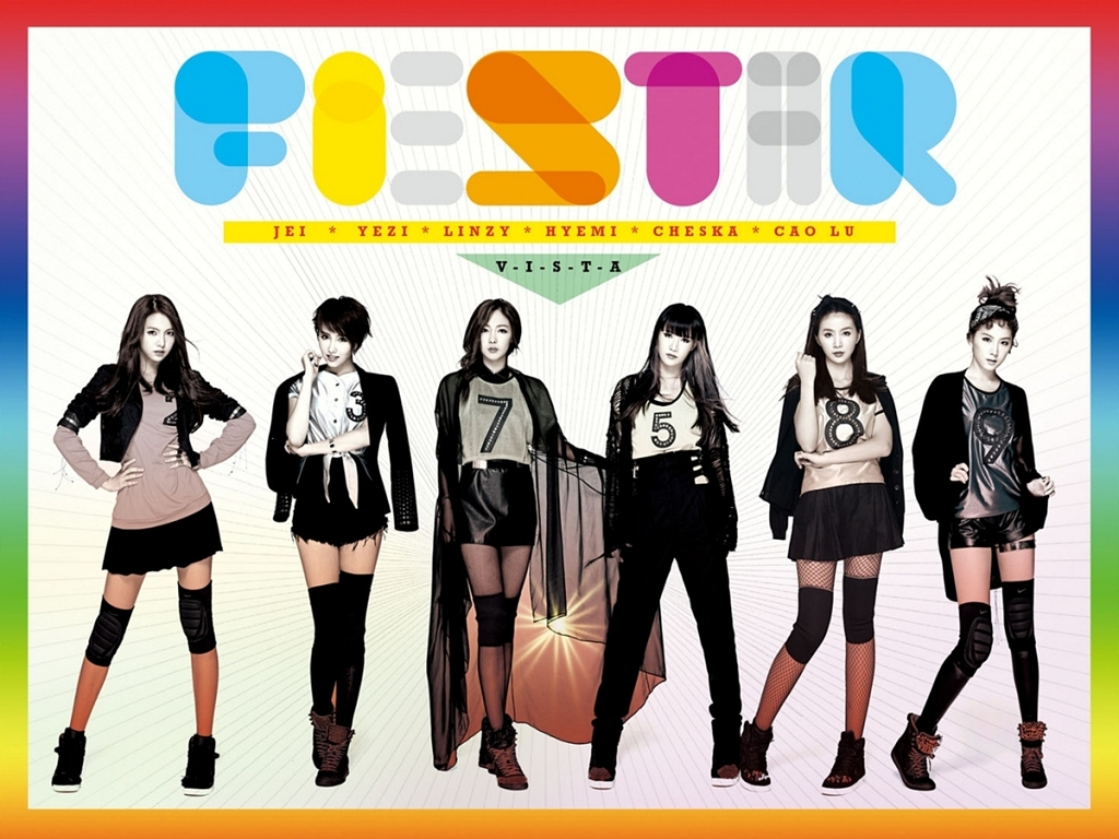 New Girl Group FIESTAR Has Their Debut Performance on Music Core