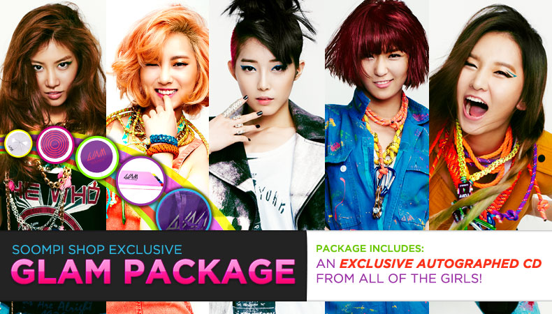 [Soompi Shop] GLAM Special Autographed Package!