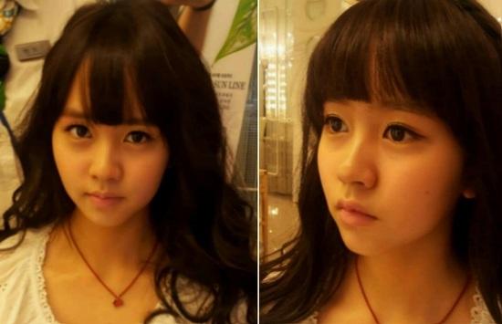 Child Actress Kim So Hyun Has a Doll-like Face