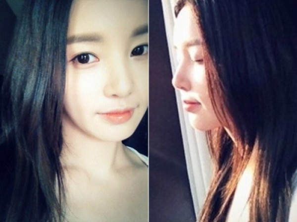 Nam Gyuri Shares Selcas on Twitter