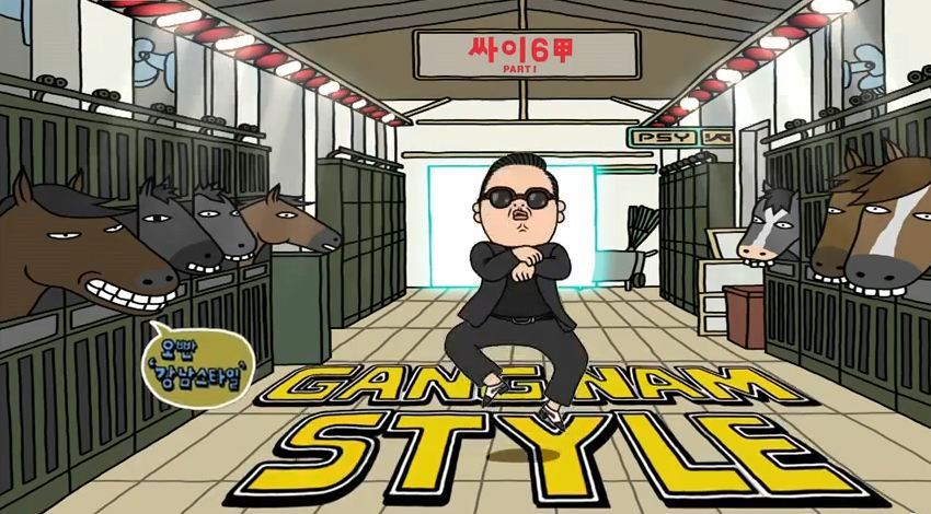 Psy's Guerilla Concert in Gangnam