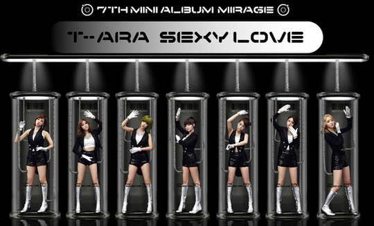 "T-ara Makes Their Comeback Performance on Inkigayo With ""Sexy Love"""