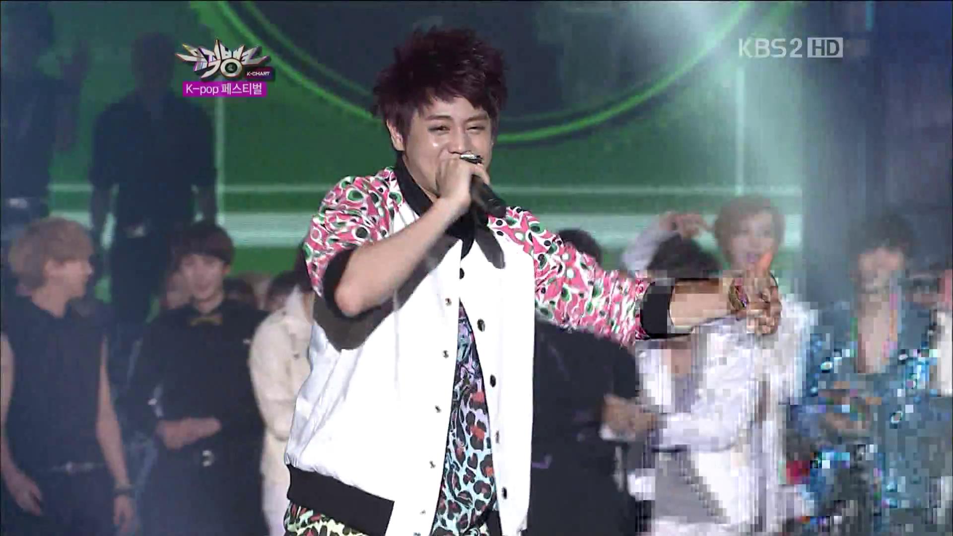 """KBS Music Bank """"KPOP FESTIVAL"""" – 31 August, 2012"""