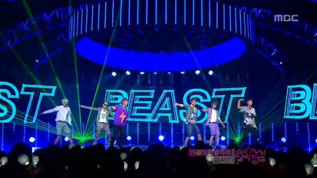 "BEAST Has Their Goodbye Stage for ""Beautiful Night"" on Music Core"