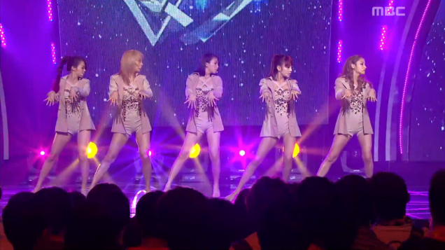 "Kara Performs ""Pandora"" on Music Core"