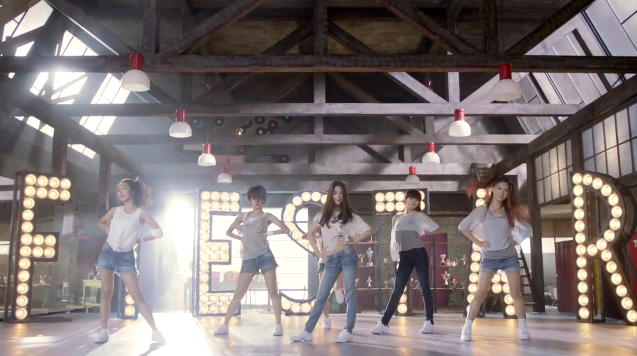 "FIESTAR Releases Performance Ver. Music Video for ""Vista"""