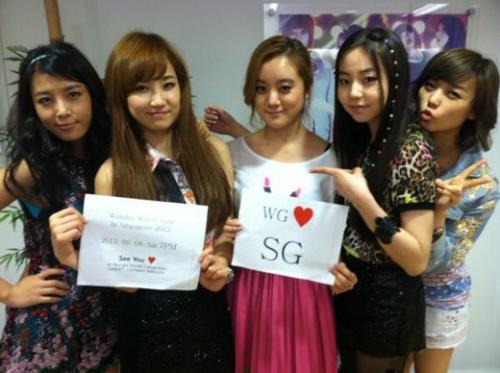 The Wonder Girls' Send a Message to Singaporean Fans